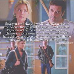 Izzie and Denny.