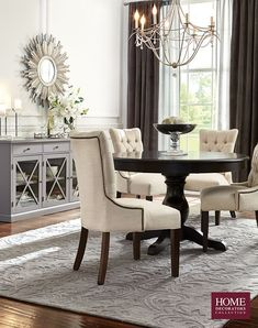 The Entertaining Season Is Upon Us And Hosting Friends And Family Is Best  With The Right Dining Room Furniture. Create An Inviting Atmosphere To  Entertain ...