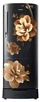 Samsung's 192L model comes in a stunning design and Colour. The refreshing look of Camellia Black makes it perfect for your home.The model comes with a Stabilizer Free Operation and Safe Clean Back .Bring home Samsung's refrigerator and guarantee yourself complete peace of mind with 10 years of warranty on compressor.     Features & details  Direct-cool refrigerator; 192 litresEnergy Rating: 3 StarWarranty: 1 year on product, 10 years on compressorStabilizer Free ( 130-300 V)Grande Door… Digital India, Origami Paper Art, Safe Cleaning Products, Samsung, Camellia, Door Design, Diwali, 10 Years, Refrigerator