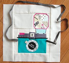 For snap-happy quilters: Camera quilt blocks! This one's made by Pink Penguin.    Stop it right this second!! So making this when I go on my sewing spree this summer! And don't you dare make yourself one @Britta Bruderer