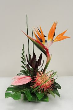 Exotic Flower Arrangements | small tropical arrangement small tropical arrangement $ 40 00 delivery ...