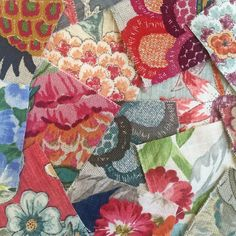 A bountiful cornucopia of floral colour and print from our new Floranova Collection book. Warwick Fabrics, Next At Home, Color Inspiration, Home Furnishings, Swatch, Textiles, Colours, Quilts, Photo And Video