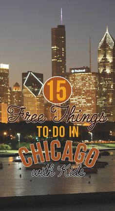 A visit to the windy city of Chicago doesn't have to be expensive! Take a look at this great list of 15 free things to do in Chicago with kids.