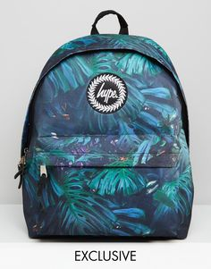 Image 1 of Hype Exclusive Backpack in Rain Forest Print