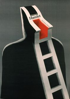 wieslaw rosocha - Hamlet Theater poster, Year: 1983