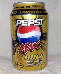 Pepsi Max Gold