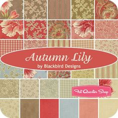 Autumn Lilt by Blackbird Designs - Fat Quarter Shop
