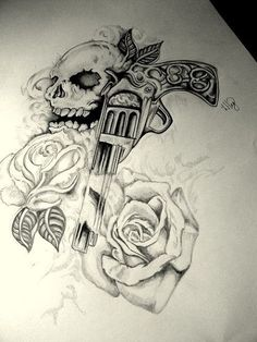 10 Best Gun Tattoos Design For Men & Women