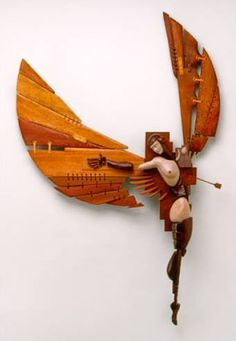 John Morris The post John Morris appeared first on Werth. Assemblage Kunst, Art Sculpture, Wooden Art, All Art, Amazing Art, Art Dolls, Art Decor, Fantasy Art, Creations
