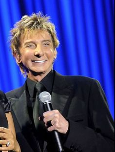 Black and blue. I Write The Songs, Barry Manilow, Gives Me Hope, Favorite Person, Are You The One, Singers, Magic, Fan, Blue