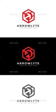Arrows Cube Logo Template Vector EPS, AI Vector Format, Logo Templates, Cube, Logos, Arrows, Logo, Arrow