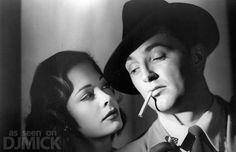 Film Noir Femmes Fatales - Robert Mitchum http://www.stickboydaily.com/movies/15-film-noir-femmes-fatales/