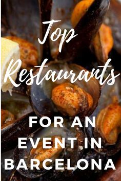 Big group dinner, party, event or get together? Take a look into these different options in the city, all perfect restaurants for an event in Barcelona. Spanish Cuisine, Spanish Food, Group Dinner, Barcelona Travel, Top Restaurants, Spain And Portugal, Spain Travel, Foodie Travel, Street Food