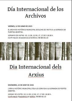 Aprovecha esta ocasión para conocer desde dentro nuestro Archivo Municipal y los documentos históricos que custodia.