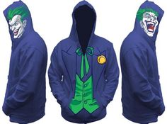Batman Joker All View Men's Zip Hooded Sweatshirt - http://forthatgeek.com/clothing-accessories/batman-joker-all-view-mens-zip-hooded-sweatshirt/