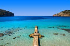 Camp de Mar, Majorca. Cala de ses Dones