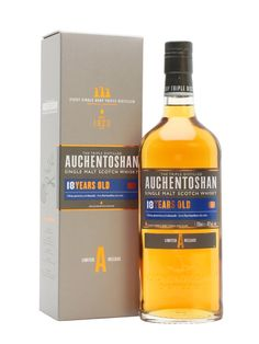 After maturation in 100% American oak casks, this Auchentoshan 18 years is a significant step up in quality and complexity from the Classic and 12 yrs expressions.