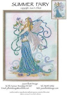 Summer Fairy - Cross Stitch Pattern
