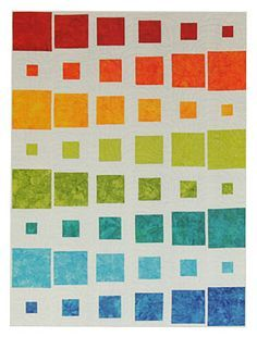 """What a fun quilt! Part of the """"Oh Baby!"""" series by Brenda Henning."""
