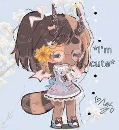 Cute Anime Chibi, Cute Anime Pics, Kawaii Anime, Bff Drawings, Anime Girl Drawings, Anime Galaxy, Cute Animal Drawings Kawaii, Drawing Anime Clothes, Cute Anime Character