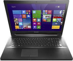 Lenovo G70-70 43,9 cm (17,3 Zoll HD+ TN) Notebook (Intel Pentium 3558U, 1,7GHz, 4 GB RAM, 500 GB HDD, Intel HD 4400, kein Betriebssystem) schwarz