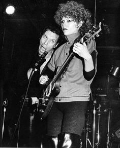 The Cramps: Lux Interior & Poison Ivy photographed by Patty Heffley.