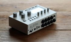 aleph, soundcomputer - new iteration of the design, from the creators of monome.