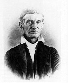 John Brown, who led a band of band of abolitionists during the Pottawatomie Massacre after the sacking of Lawrence in 1856. Photo courtesy of Watkins Community Museum of History