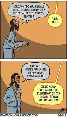 not being racist, but 'God' has a pretty big point...