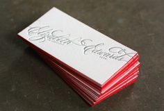 40+ Premium Thick Edge Business Cards For Your Inspiration