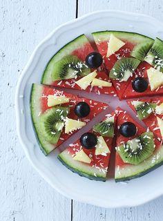 ( Puppenzimmer ): Endlich mal gesunde Pizza!! Ein fruchtiger Sommertipp.