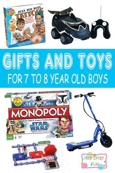 Best Gifts and Toys for 8 Year Old Boys | 8 Year Old Boys Gifts ...