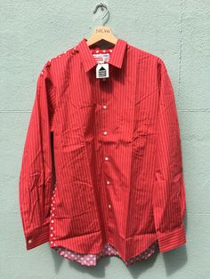 521cf9323237 DSWT CDG x Supreme button shirt (3rd Collab)