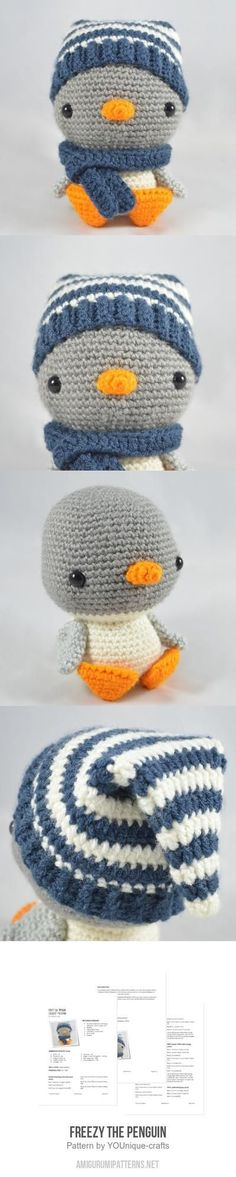 Freezy The Penguin Amigurumi Pattern