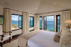 Breathe in the crisp air from your bedroom in Laguna Beach, CA.