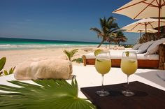 Vacation Home Rental, Tulum, Mexico, Mayan Riviera Mayan History, Beach Bedding, Vacation Home Rentals, Cozumel, Mexico Travel, Tulum, Travel Around, Chic, Playa Del Carmen