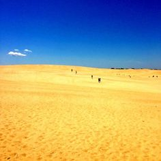 Jockey's Ridge Sand Dunes in Outer Banks