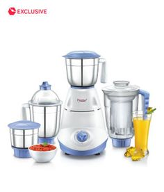 Juicer Mixer Grinder Prestige IRIS 750 Watt 4 Jars Juicer Mixer Grinder Snapdeal offers Prestige 750 Watt Juicer Mixer Grinder with 4 Jars. What a luxury to be able to churn out a veritable feast with delicacies along with nutritious fruit juices that have come from the kitchen to your dining table? Indeed it is! And … Continue reading Prestige IRIS 750 Watt 4 Jars Juicer Mixer Grinder