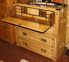 meuble de bureau rangement marine en acajou nautical furniture nautical antiques pinterest. Black Bedroom Furniture Sets. Home Design Ideas