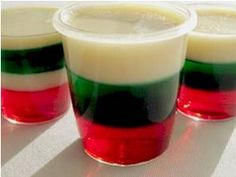 red green Christmas jello shots Party Simplicity Hosting an Ugly Christmas Sweater Party