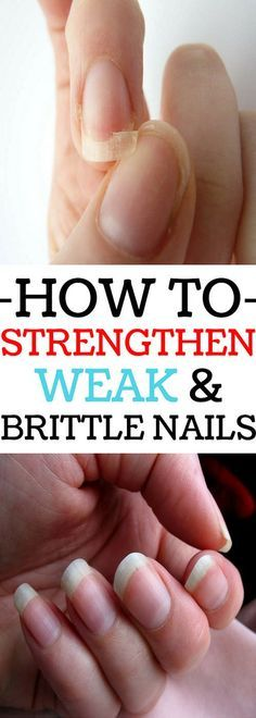 Here are four easy methods that can help you strengthen weak and brittle nails.