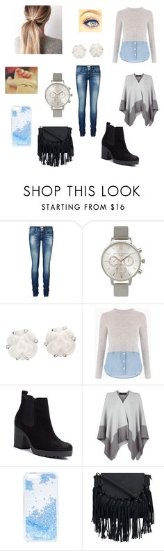 """Untitled #135"" by naiig ❤ liked on Polyvore featuring Vero Moda, Olivia Burton, Chanel, Tommy Hilfiger, Jaeger and Skinnydip"