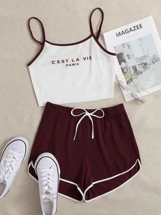 Really Cute Outfits, Cute Lazy Outfits, Cute Swag Outfits, Edgy Outfits, Mode Outfits, Girly Girl Outfits, Teenage Girl Outfits, Girls Fashion Clothes, Teenager Outfits