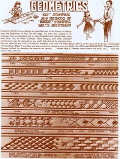 Free Leather Tracing Patterns | oak leaf leather carving patterns
