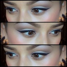Makeup of the Day: PRETTY WINGEDLINER by KingofPrussia. Browse our real-girl gallery #TheBeautyBoard on Sephora.com & upload your own look for the chance to be featured here! #Sephora #MOTD