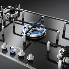 SMEG | Einbau Gaskochfeld | Designgaskochmulde