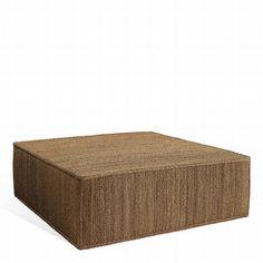 Peyton Ottoman - Chairs / Ottomans - Furniture - Products - Ralph Lauren Home - RalphLaurenHome.com