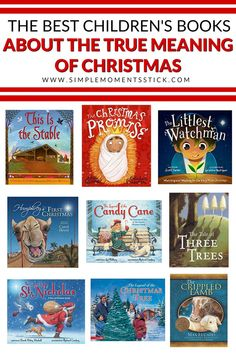 Looking for Christmas books about the true meaning of Christmas? These are sure to become your kids new favorite Christmas books!