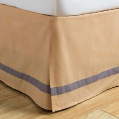 Liven up your bedding decor with this cotton bedskirt . The Ogee Collection Gold…