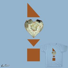 When your heart is made of stone on Threadless